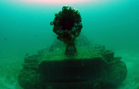 Scuba Tanks Make Artificial Reefs For Divers While