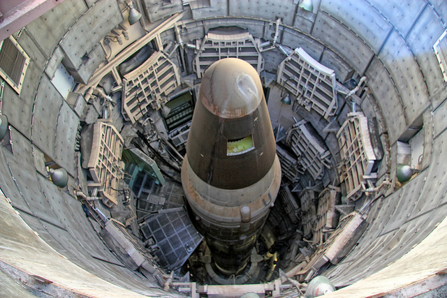 Nuclear Missle Silo Diving